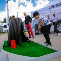 Bridgestone Scania klientu pasākumā