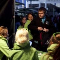 Amigo, LMT un OKarte promo visā Latvijā 2013