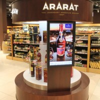 Pernod Ricard display in ELKOR