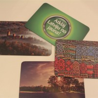 Magnet game display for Latvian Tourism Development Agency